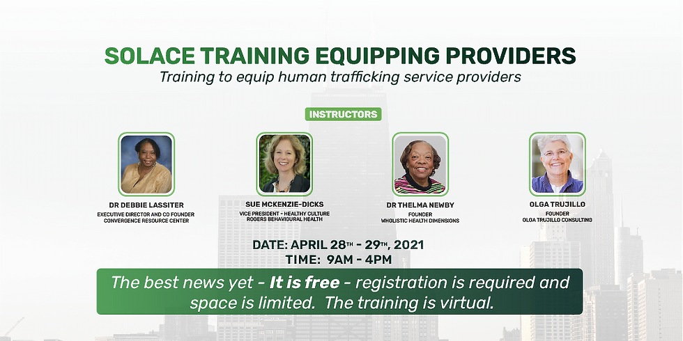 Solace Training Equipping Providers