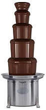Chocolate Fountain rental and wedding caterer and belgian chocolate