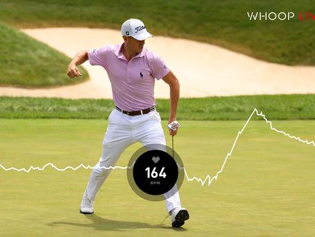 Whoop a PGA budou fanouškům ukazovat srdeční tep hráčů
