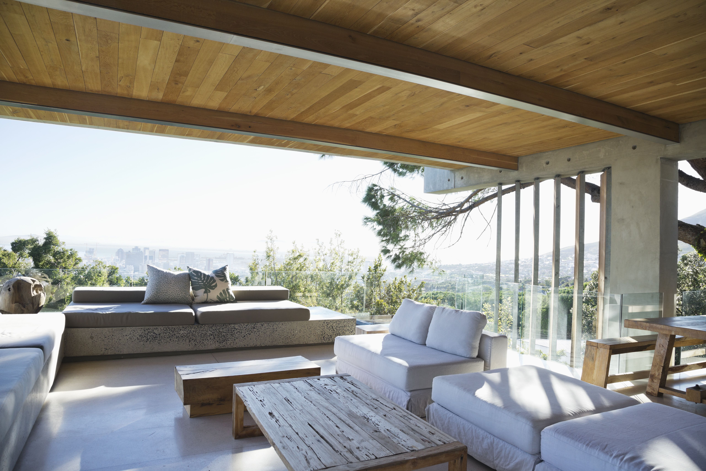 Porche moderne