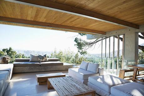 Moderne Veranda