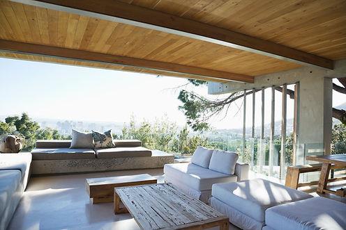 Modern verandan
