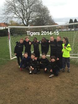 Tigers 2014-15