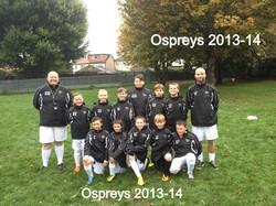 Ospreys 2013-14
