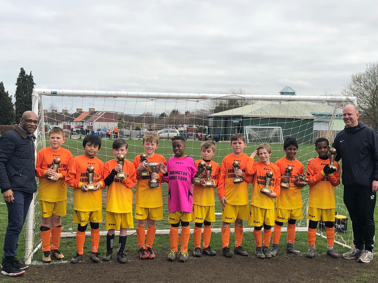 Dragons Cup Final Winners 2018-19