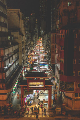 Night Market, HK