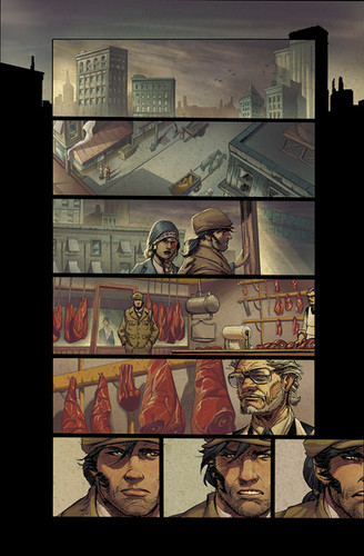 Wolverine Origins II - Marvel Color Sample
