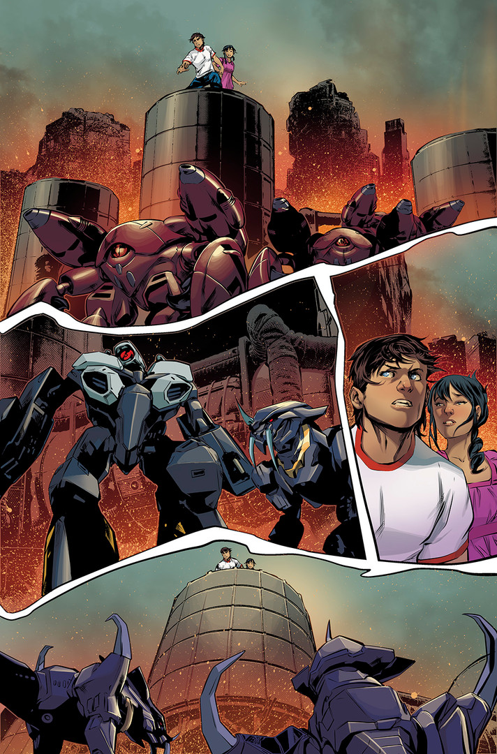 Robotech #21 Preview - Published Work