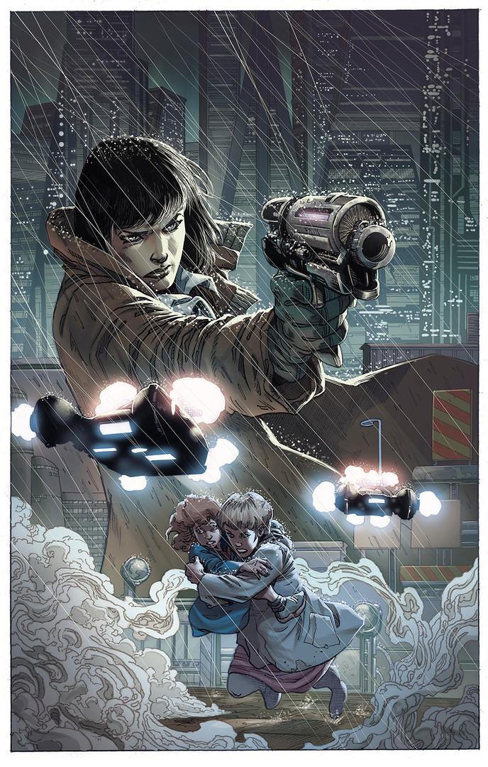 Blade Runner 2019 Cover