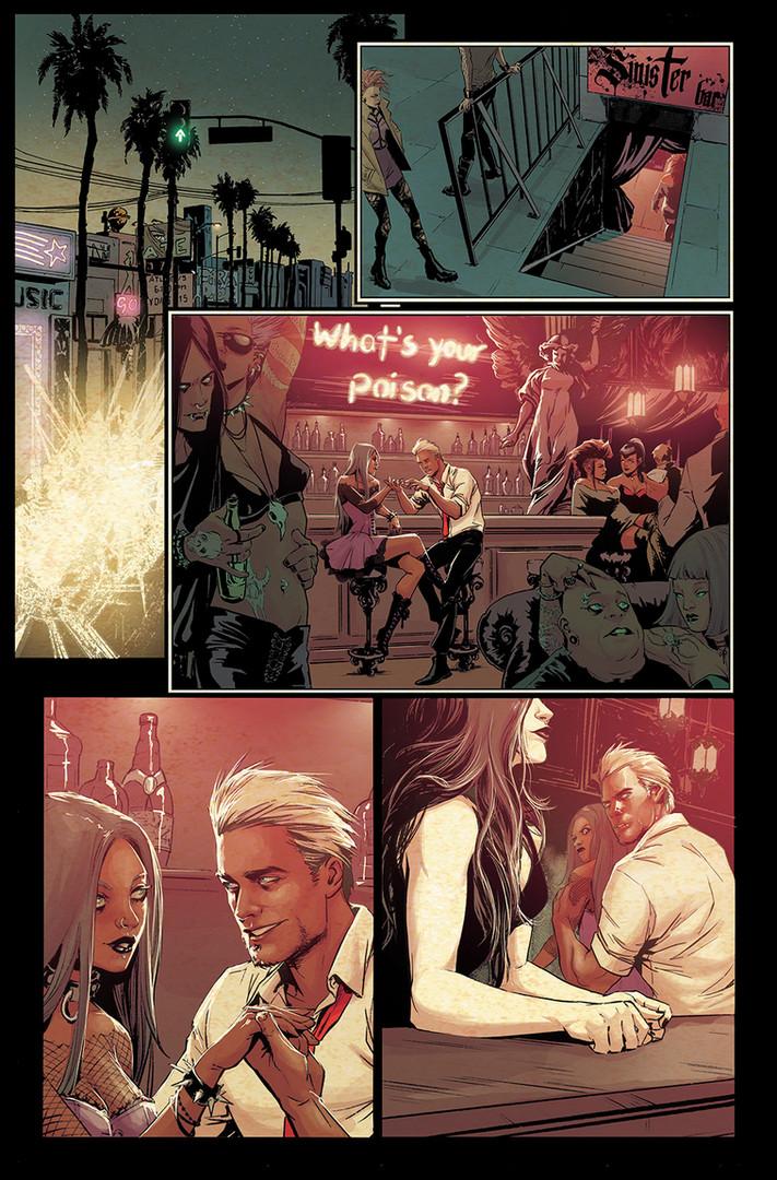 Constantine & Death Fanart DC Color Sample
