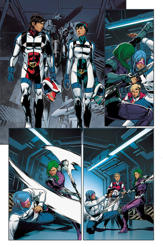 Robotech 21# Preview - Published Work