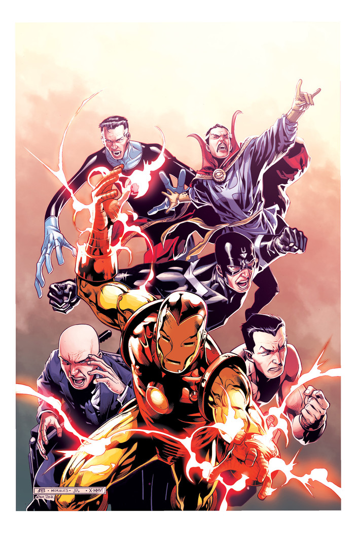 Illuminati Cover Sample - Marvel