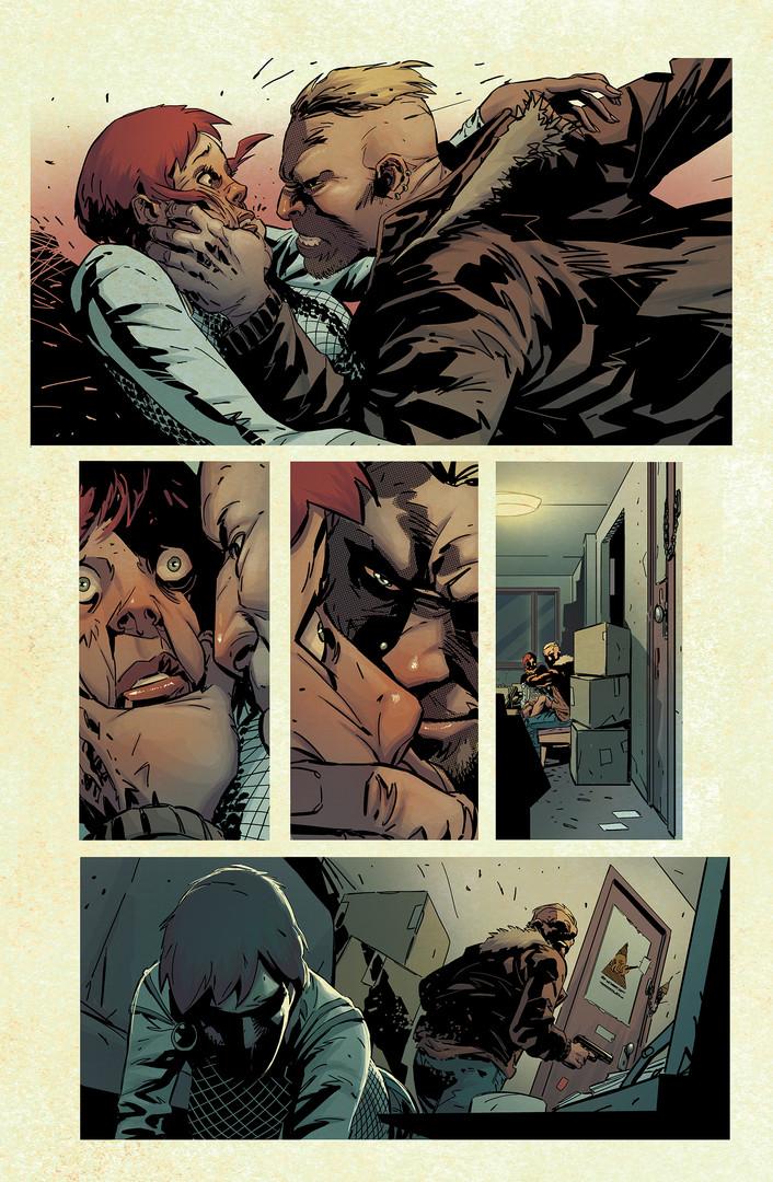 The Punisher - Marvel Color Sample