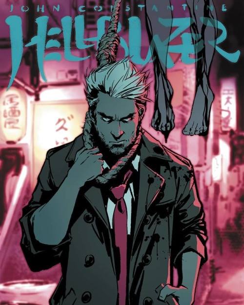 Hellblazer fanart Cover