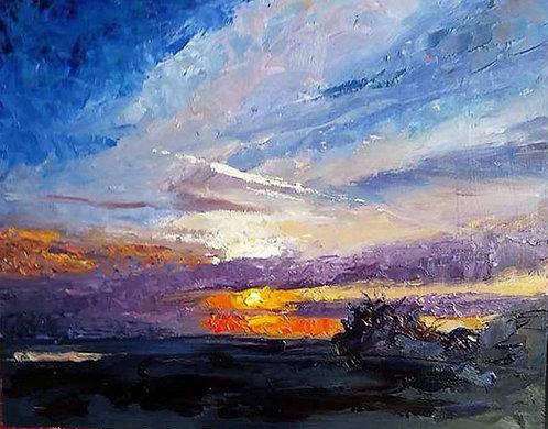 Tilbury Sunset