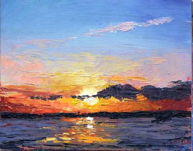 Oil Evening Colours 25cm x 20cm.jpg