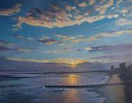 Oil Westcliff sunset 100cm x 80cm.jpg