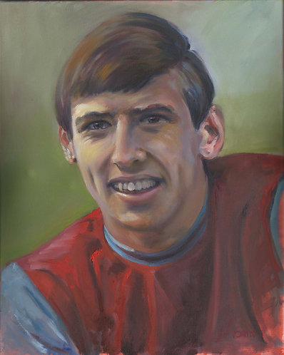 Martin Peters Unframed Print