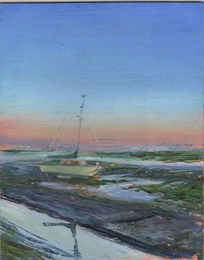 Oil Peace on the Mud 20cm x 25cm.jpg