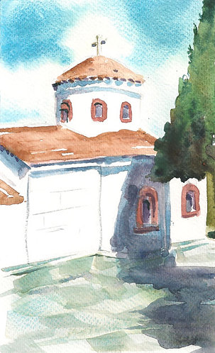 SKIATHOS CHURCH