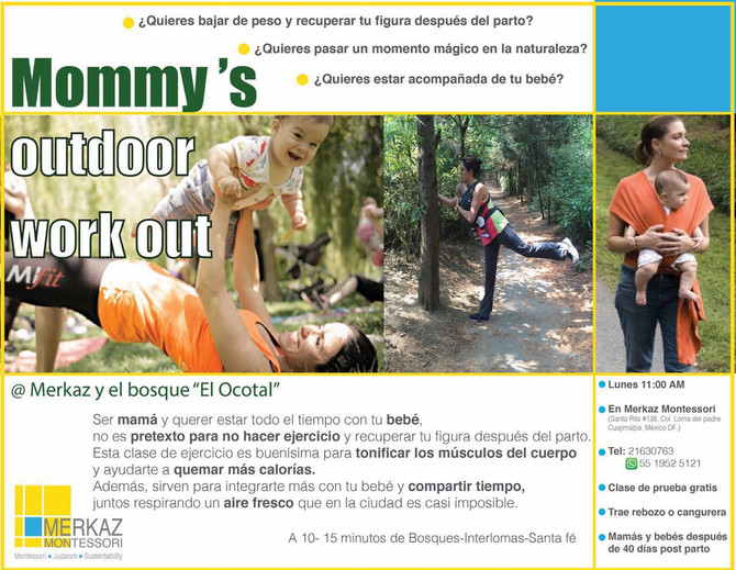 Mommy´s Outdoor work out