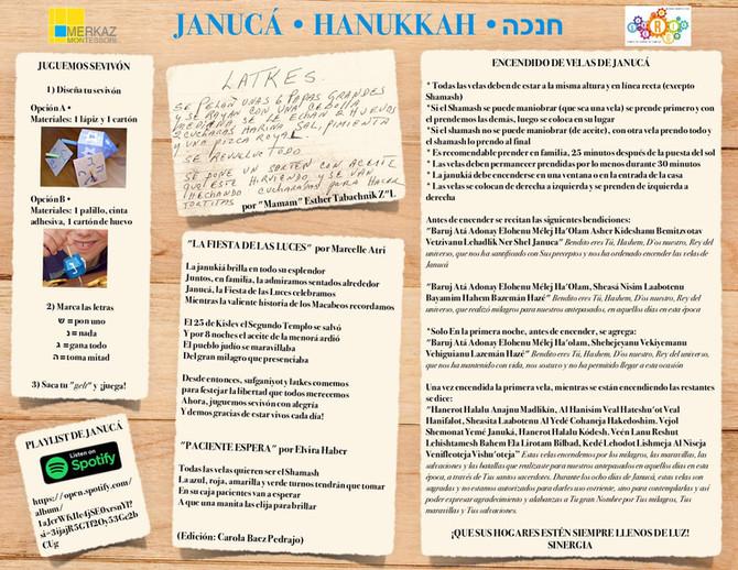 Janucá - Hanukkah-חנכה