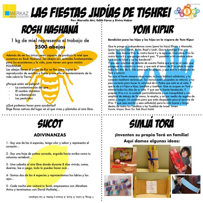 LAS FIESTAS JUDIAS DE TISHREI