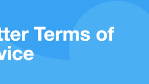 Some updates you should know about Twitter | Twitter Terms of Service