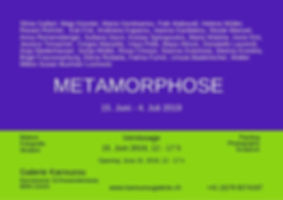 Metamorphose Einladung