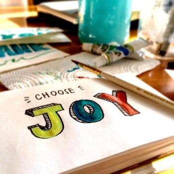 Choose Joy Drawing