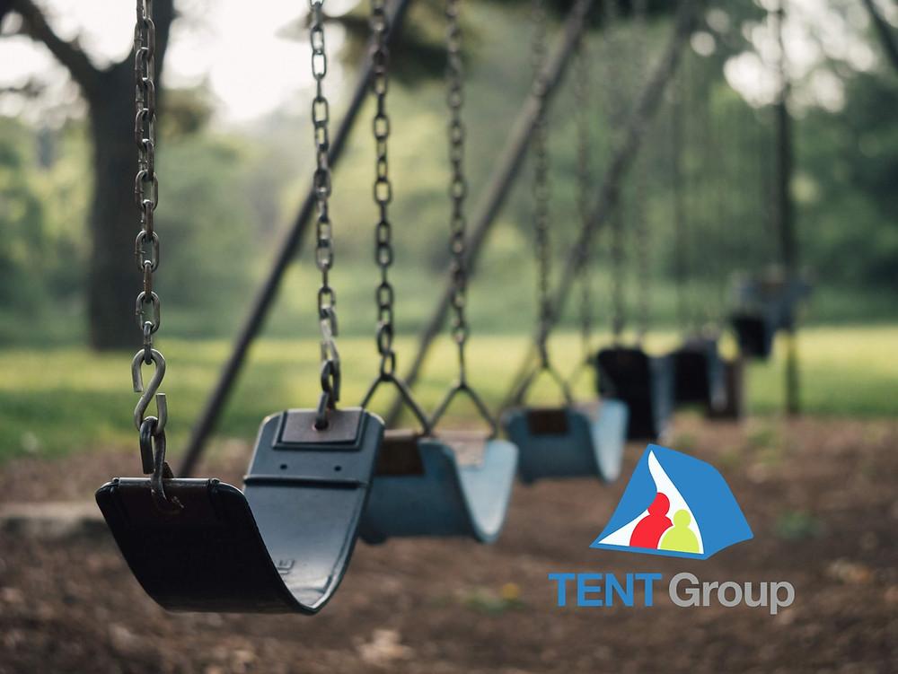 Swing set childs park