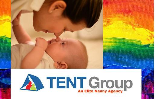 lesbian nanny loving infant nose to nose