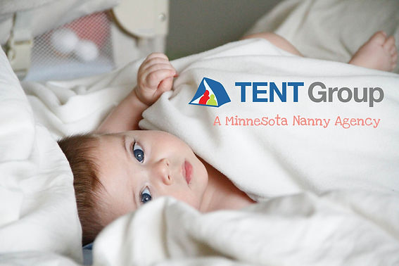 Nanny puts baby down for nap