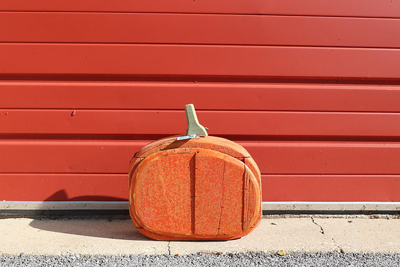 Small Wide Pumpkin