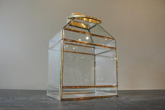Wide Gold Lantern