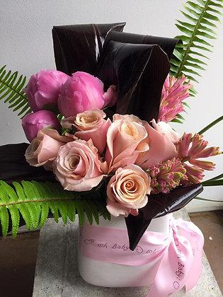 Oh Baby! Girl Flower Bokay