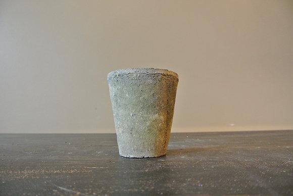 Gray Textured Pot