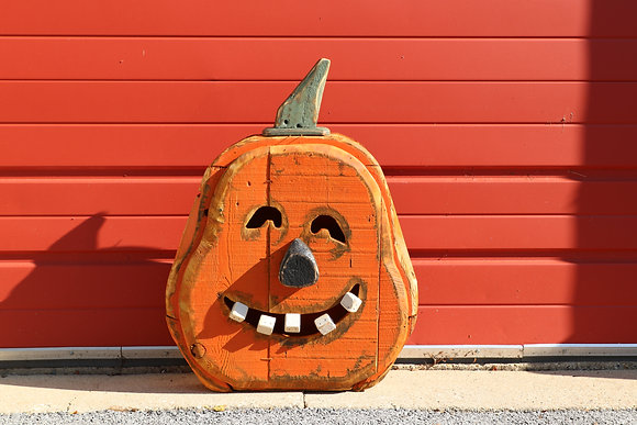 Carved Pumpkin - Medium