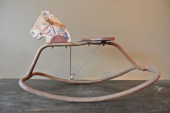 Vintage Riding Horse
