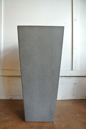 Tall Gray Planter