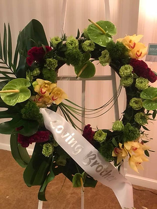 Loving Brother Wreath