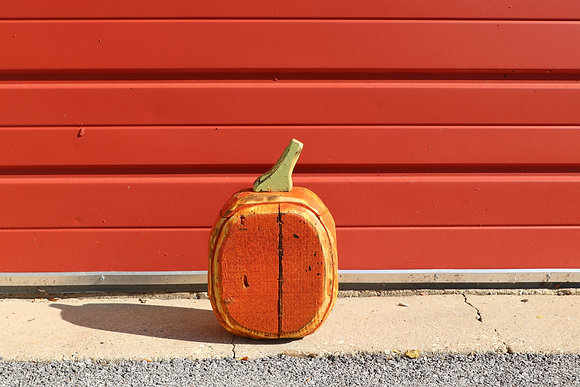 Tall Small Rounded Pumpkin