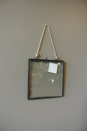 Small Clear Hanging Frame