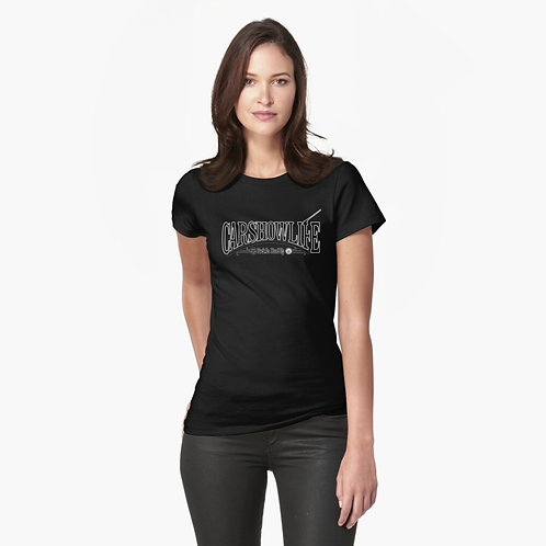 CSL Stylized Logo Fitted T-Shirt