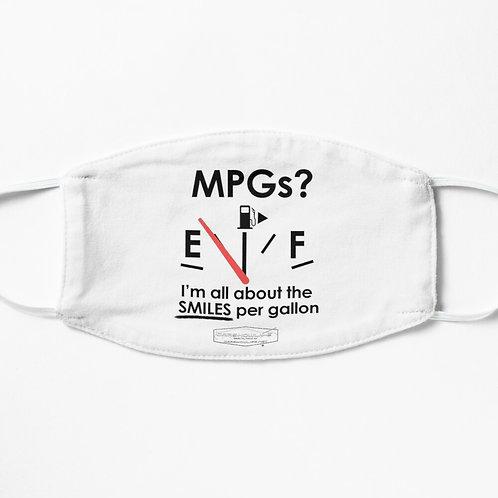 Smiles Per Gallon Facemask