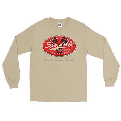 Car Show Life Speedshop Long Sleeve T-Shirt