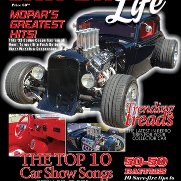 Car Show Life Magazine Cover