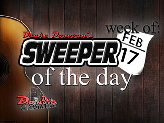 SWEEPER OF THE DAY: WEEK OF 02/17/2020