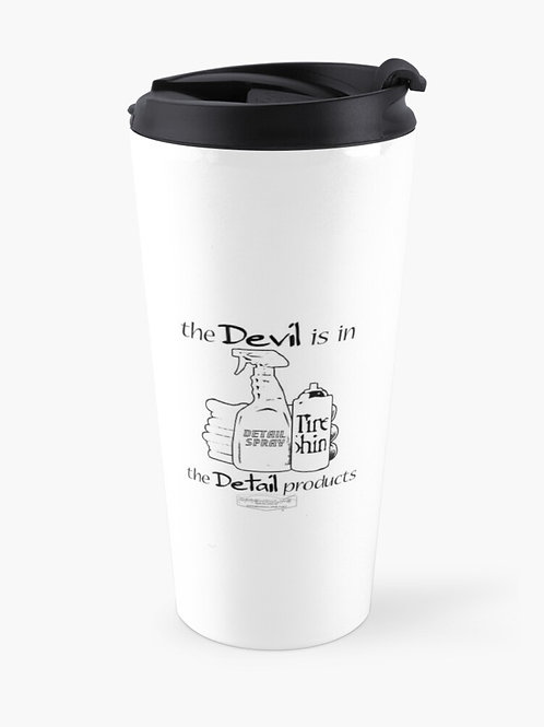 The Devil Is In The Details Travel Mug