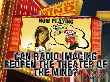 Can Radio Imaging Reopen The Theater Of The Mind?